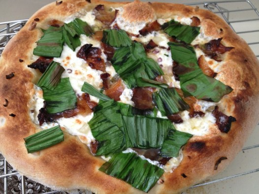 Ramp Pizza with Bacon 2013-05-05