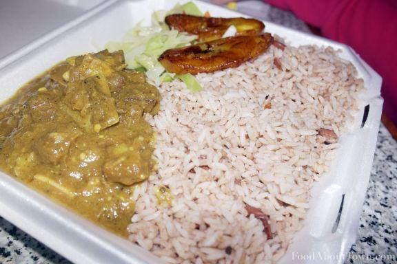 Peppa Pot Curry Goat