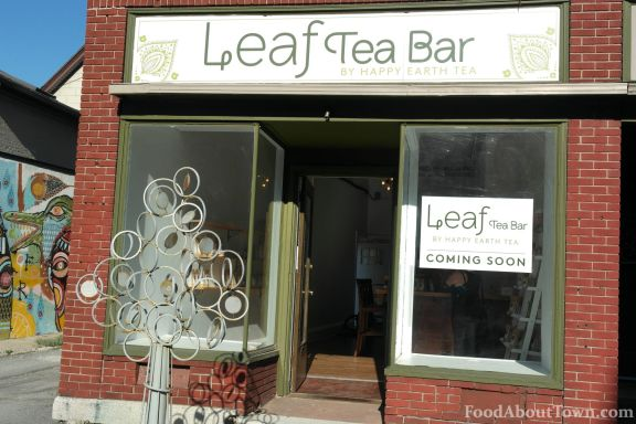 Leaf Tea Bar Front
