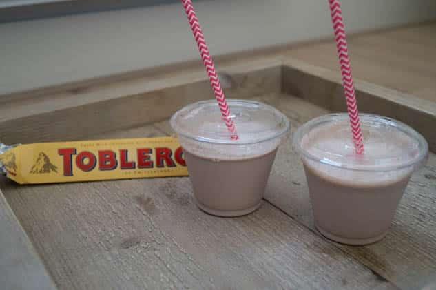 Toblerone milkshake | Foodaholic.nl