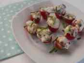 Gevulde tomaat hapjes | Foodaholic.nl
