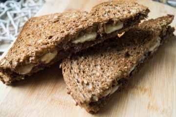 Tosti Nutella en Banaan | Foodaholic.nl