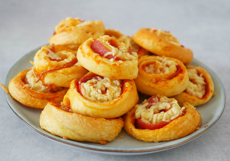 Pizzarolletjes | Foodaholic.nl