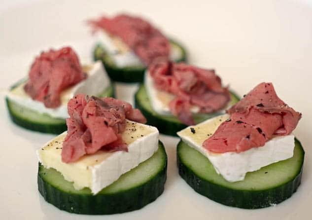 Komkommer hapje | Foodaholic.nl