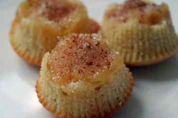 Upside- down appelmuffins | Foodaholic.nl