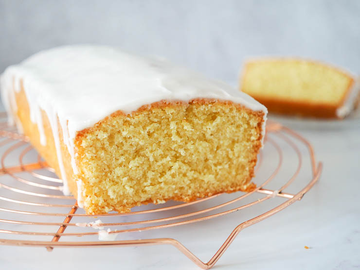 Lekker frisse citroencake | Foodaholic.nl
