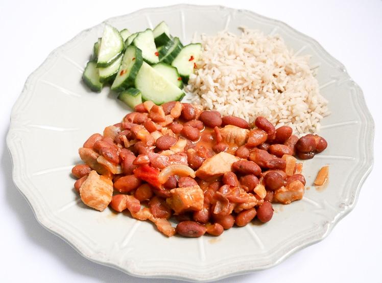 Surinaamse bruine bonen met rijst | Foodaholic.nl