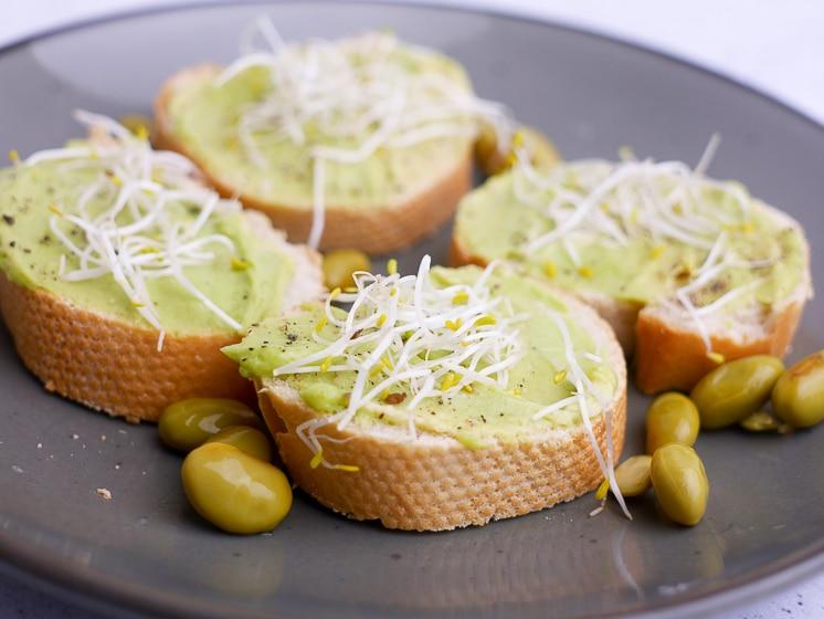 Spread van edamame boontjes | Foodaholic.nl