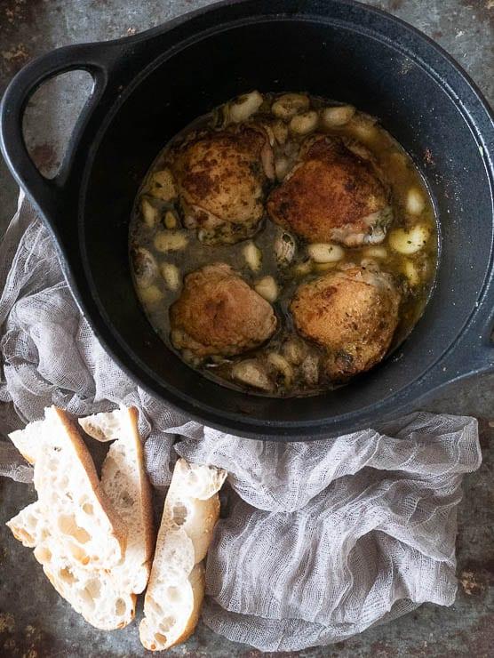 Kip met 40 tenen knoflook | Foodaholic.nl