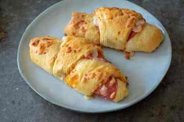 Pizza croissant | Foodaholic.nl