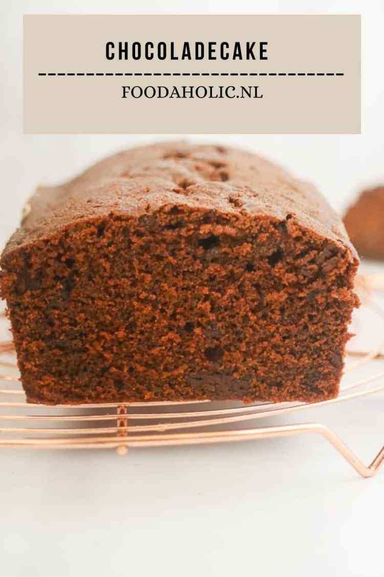 Chocoladecake - Pinterest | Foodaholic.nl