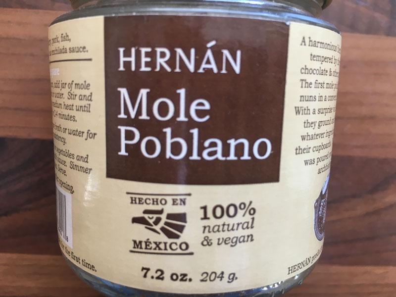 Hernan Mole Poblano
