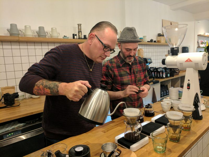 Coffee & Chocolate Pairing - Barista