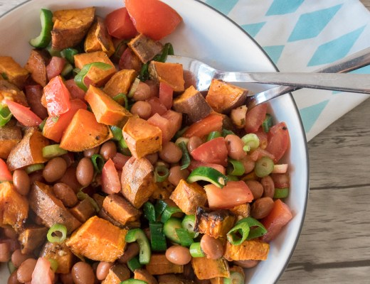 Zoete aardappelsalade