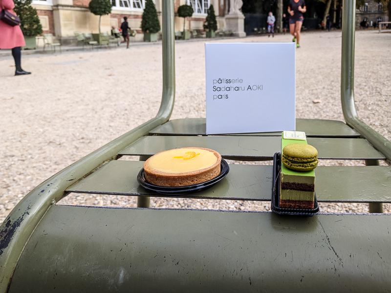gebak in Parijs