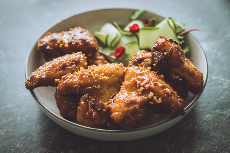 Ike's Vietnamese Fish Sauce Chicken Wings