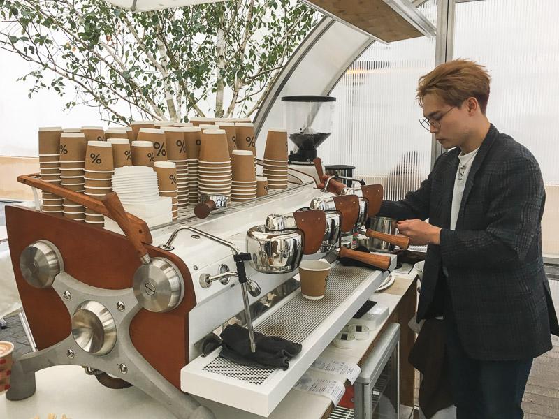 Goede koffie in Parijs