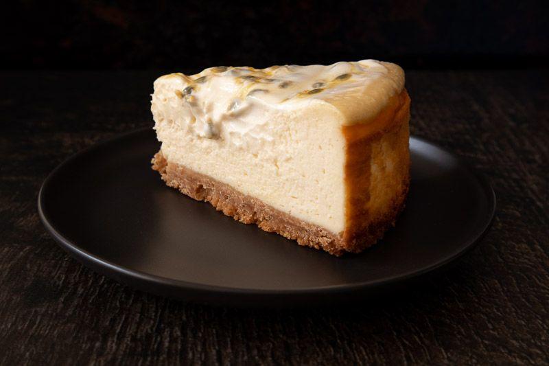 Vanille cheesecake met passievrucht