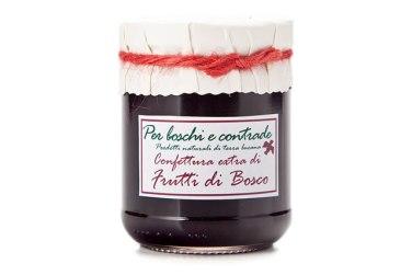 confettura extra di frutti di bosco marmellata di frutti di bosco boschi e contrade confettura italiana marmellata italiana basilicata lucania