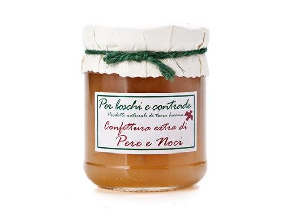 confettura extra di pere e noci marmellata di pere e noci boschi e contrade confettura italiana marmellata italiana basilicata lucania