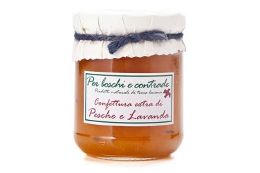 confettura extra di di pesche e lavanda marmellata di di pesche e lavanda boschi e contrade confettura italiana marmellata italiana basilicata lucania