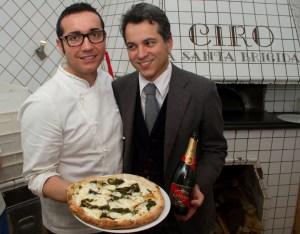 Gino Sorbillo Pizza + G.H. Mumm