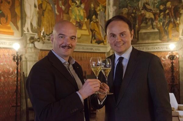 Gianluca Bisol con Matteo Bruno Lunelli