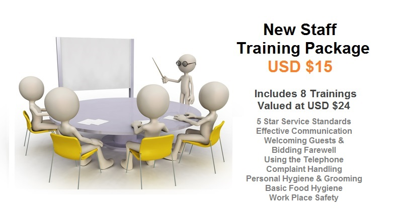 Training Packages New Staff