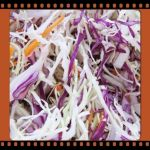 Cole Slaw/red cabbage and carrots