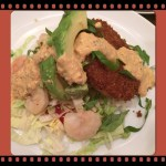 Fried Green Tomatoes and Shrimp