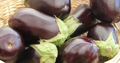 nutrition facts of eggplant
