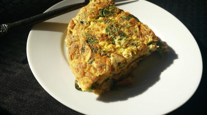 Omelette Twist recipe