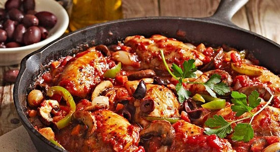 Food From the World: Chicken Cacciatore