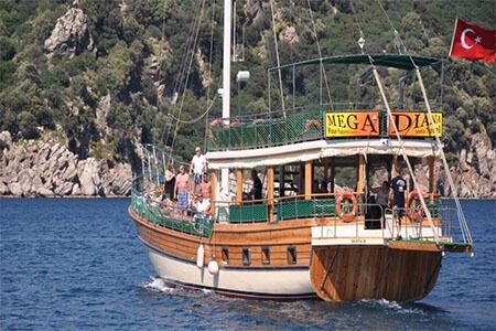 Marmaris Mega Diana boat trip