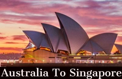 Do Singaporean Need Visa to Australia