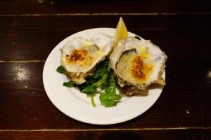 Grilled Garlic Breadcrumb Oysters, Loch Fyne Seafood & Grill
