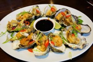 Tempura Chilli Oysters