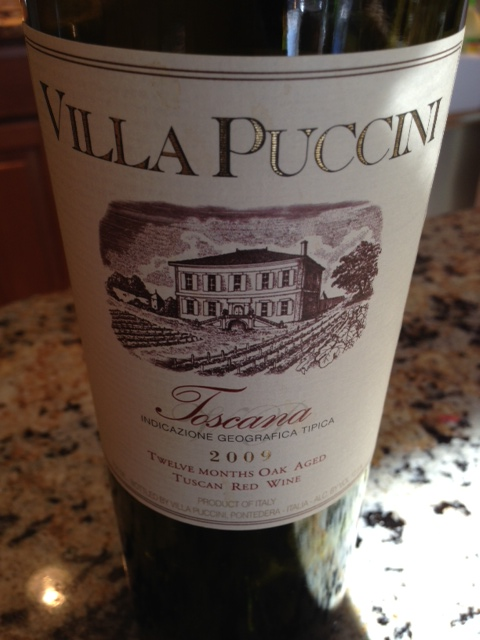 2009 Villa Puccini Toscana  Food  Wine Chickie Insider