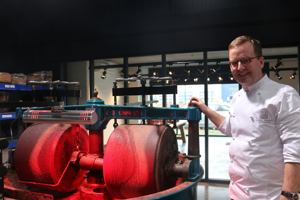 Chocolate maker Benoît Nihant seeking to expand in Brussels and beyond