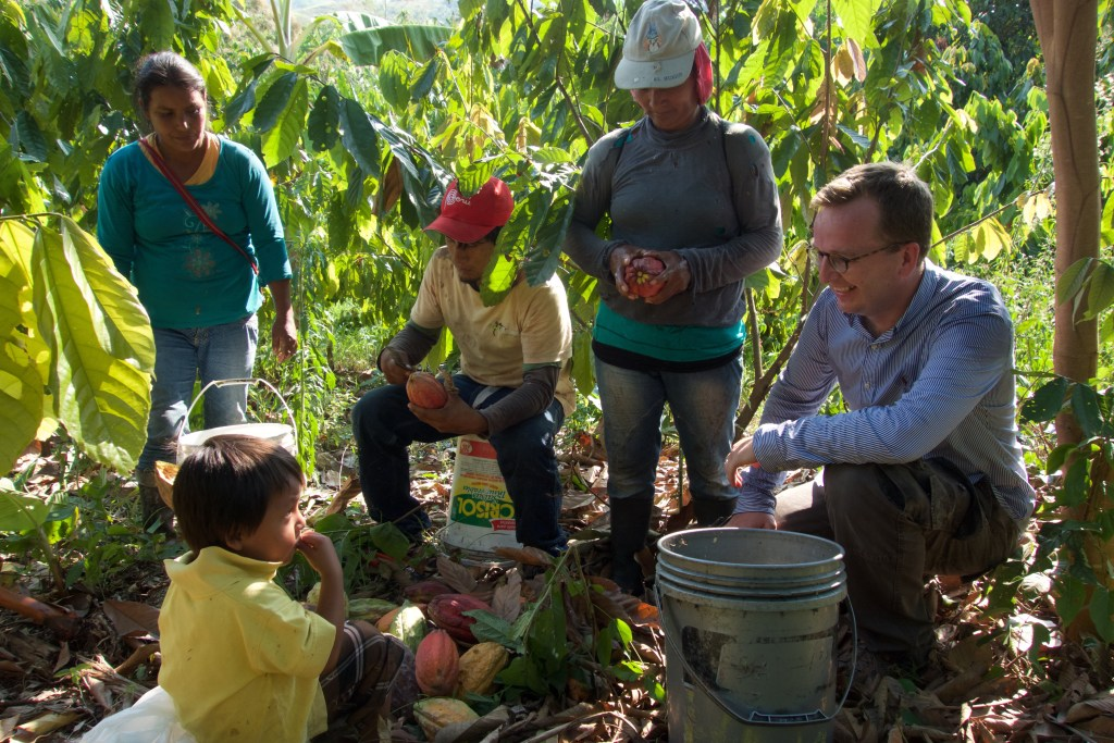 Benoît Nihant invests in his first cacao plantation in Peru