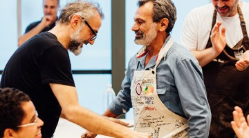 Auction of aprons signed by Massimo Bottura in aid of Food for Soul