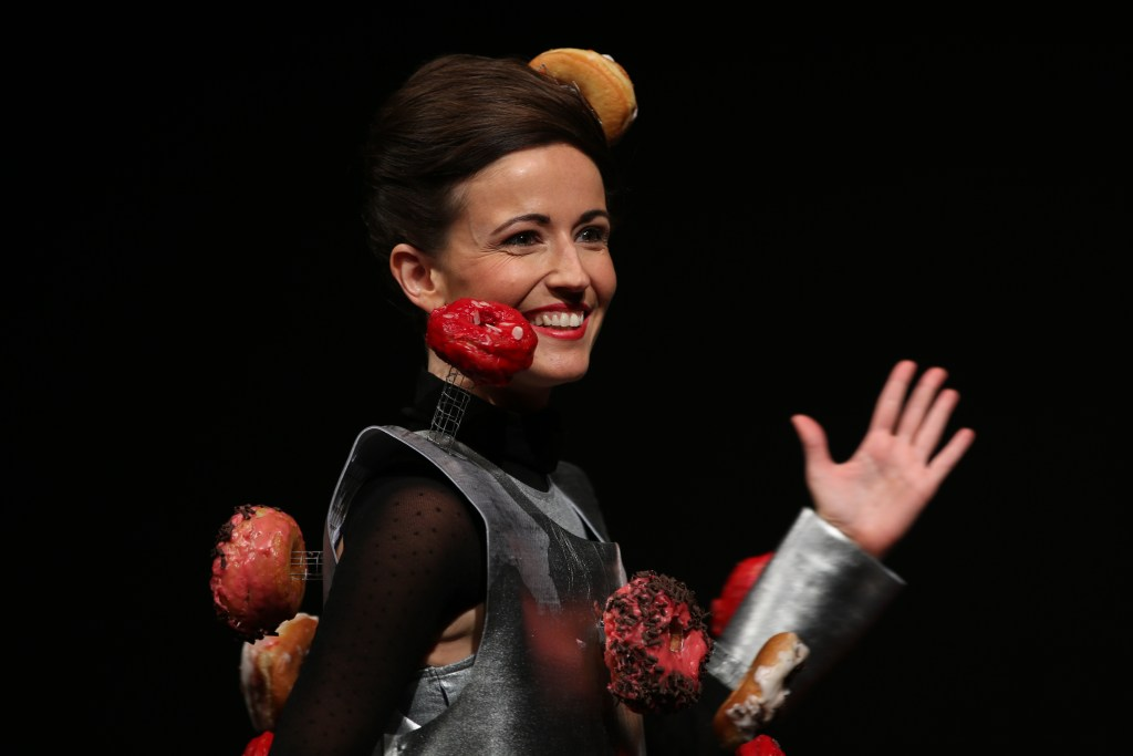 Chocolate fashion show inaugurates this year's edition of Salon du Chocolat in Brussels
