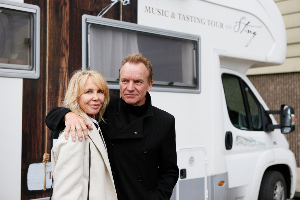 Trudie Styler and Sting launch Il Palagio tasting tour at ProWein in Dusseldorf