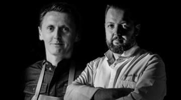Round trip for four chefs starts at Le Coq aux Champs
