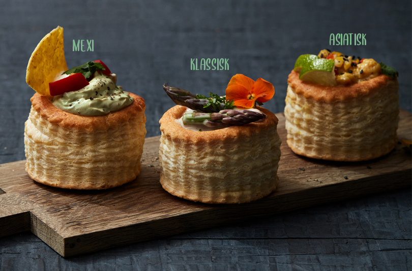 Klassiske Chick Free vol au vents
