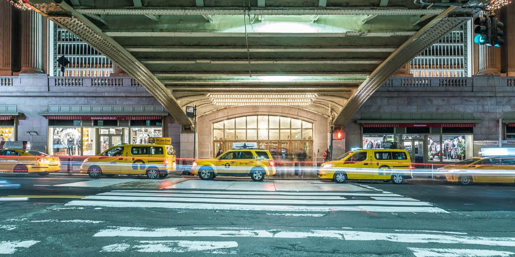Blick von außen auf die Grand Central Station.
