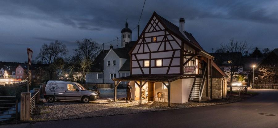 Die historische Schmiede von Haunsheim