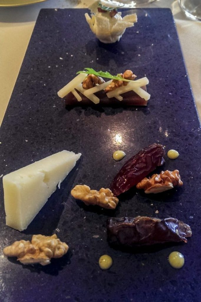 Sant Pau Tomme de Miren cheese, three ways