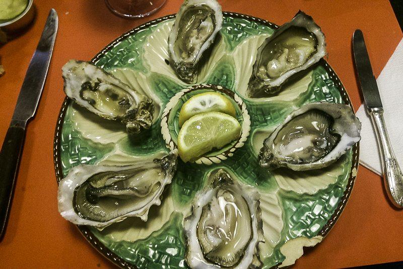 Au Port de la Lune oysters