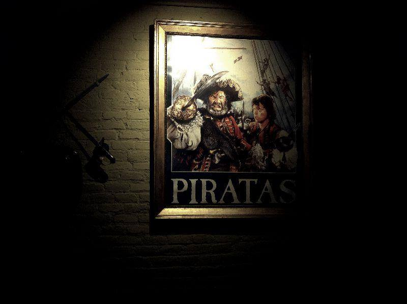 Piratas poster